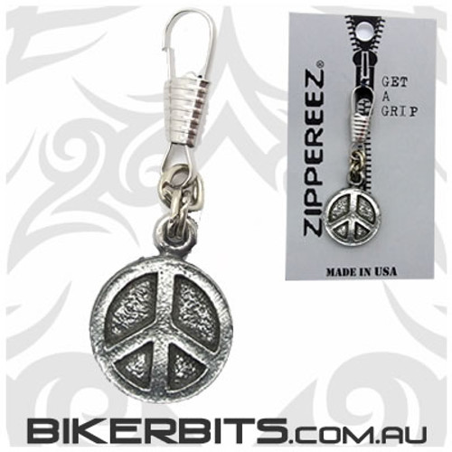 Zippereez Zipper Pull - Peace