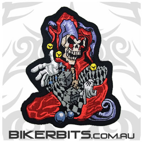 Patch - Skull Jester-  Small