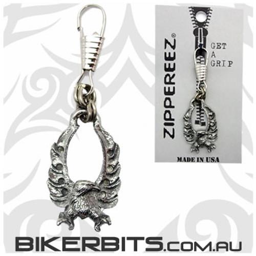 Zippereez Zipper Pull - Eagle