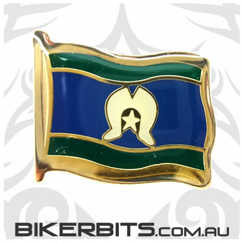 Lapel Pin - Torres Strait Islander Flag