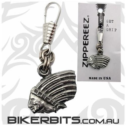 Zippereez Zipper Pull - Indian Profile