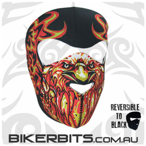 Headwear - Neoprene Full Face Mask - Blazin Eagle