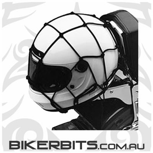 Tie Downs - Motorcycle Cargo Net - Black