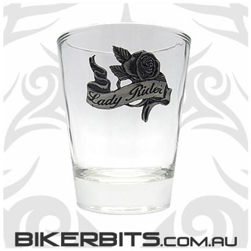 Shot Glass - Lady Rider