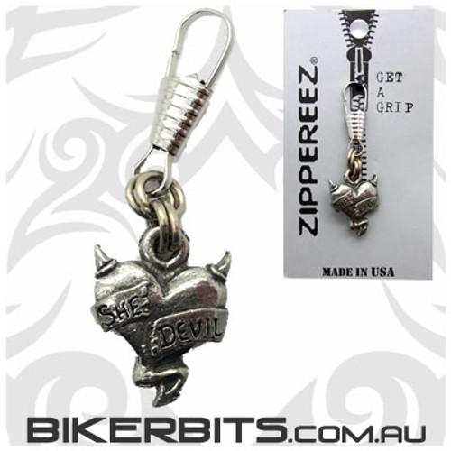 Zippereez Zipper Pull - She Devil