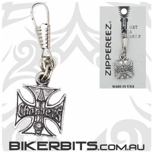 Zippereez Zipper Pull - Choppers