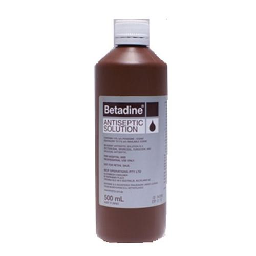 Betadine Antiseptic Solution 500ml
