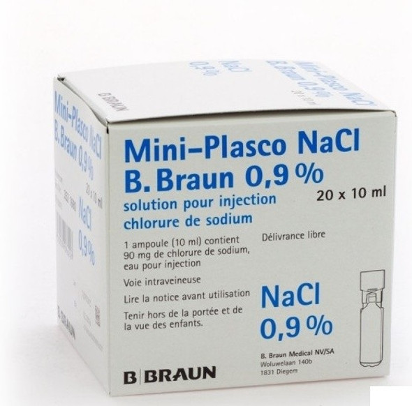 Sodium Chloride 0.9% For Injection | Ampoules