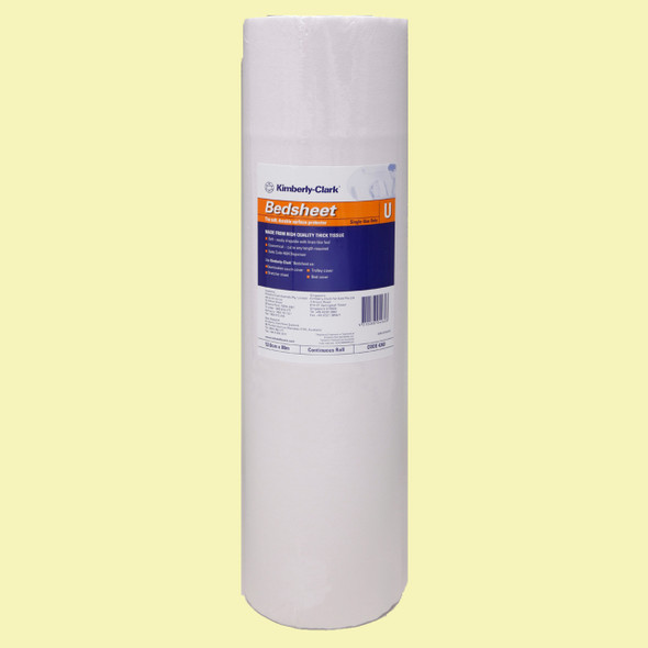 Halyard Bed Sheet - 53.5 cm X 80 M - 6 Rolls/ Carton