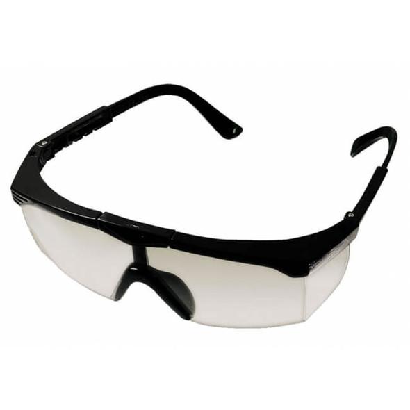 Glasses Safety Black Frame