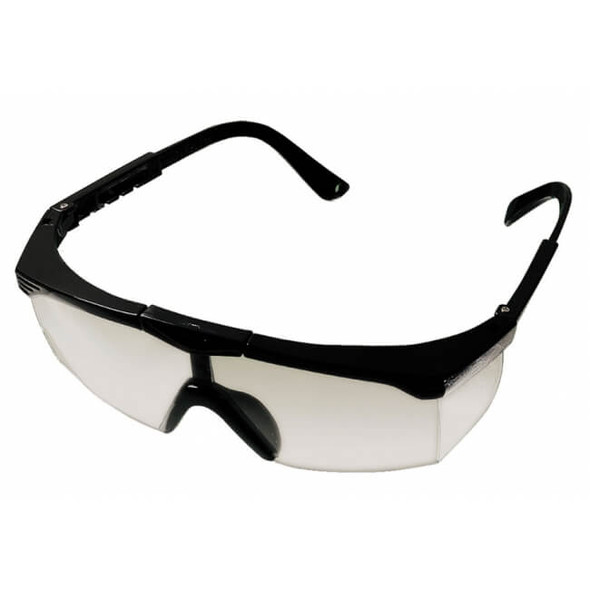 Glasses Safety Black Frame