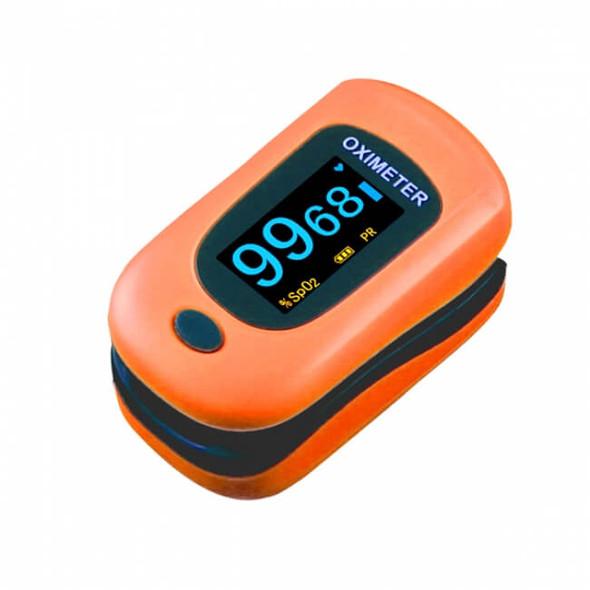 Adult Pulse Oximeter - Orange