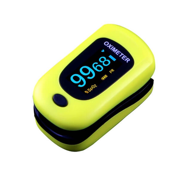 Adult Pulse Oximeter - Yellow