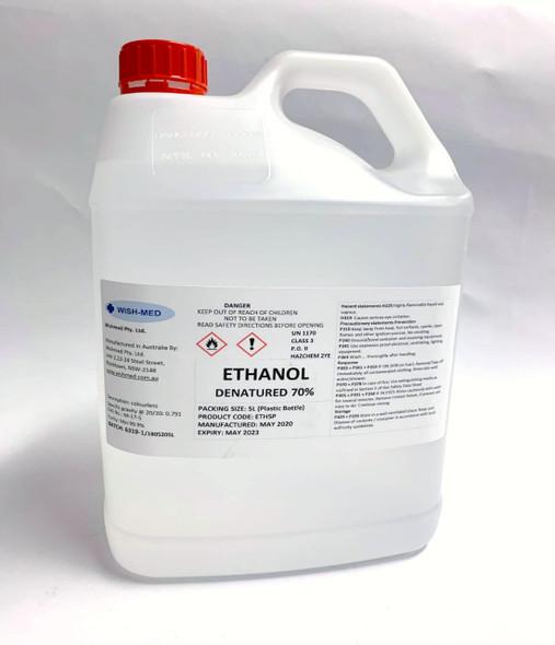 Ethanol Alcohol 5 Litres