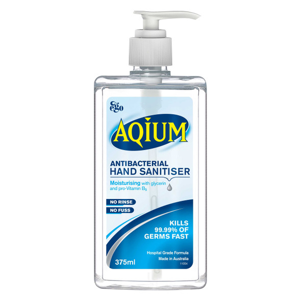 Aqium Hand Sanitiser 375ml