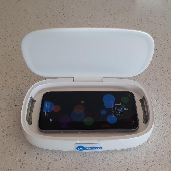 UV Light Mobile Phone Sterilizer