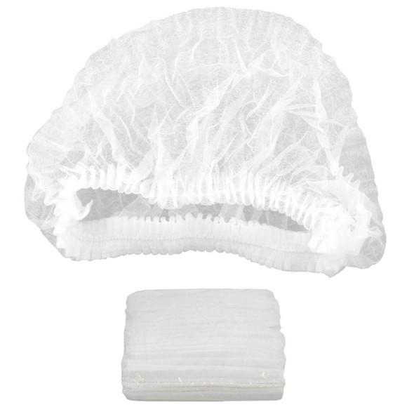 Disposable Hair Net Caterpillar Cap Head Cover