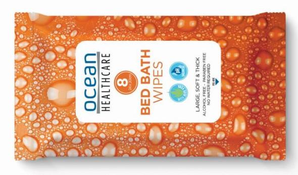 Ocean Bed Bath Wipes - 24x20cm