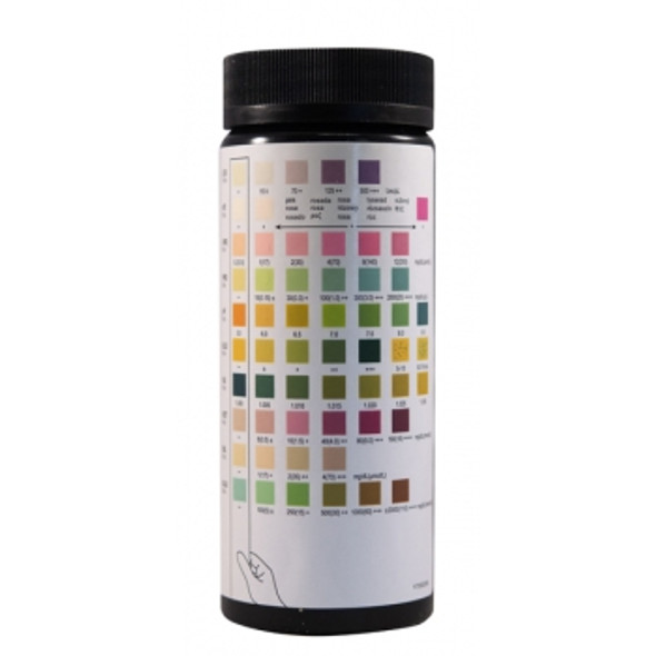 Reactif Urine Reagent Test Strips 10SG - 100 Pack