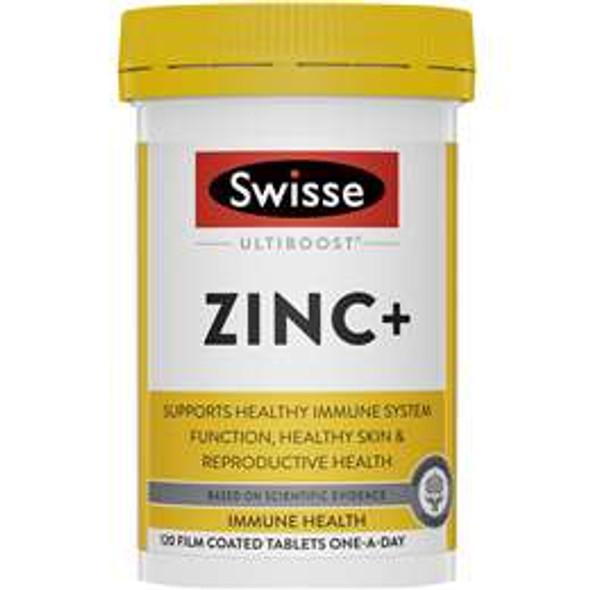 Swisse Ultiboost Zinc+ Tabs