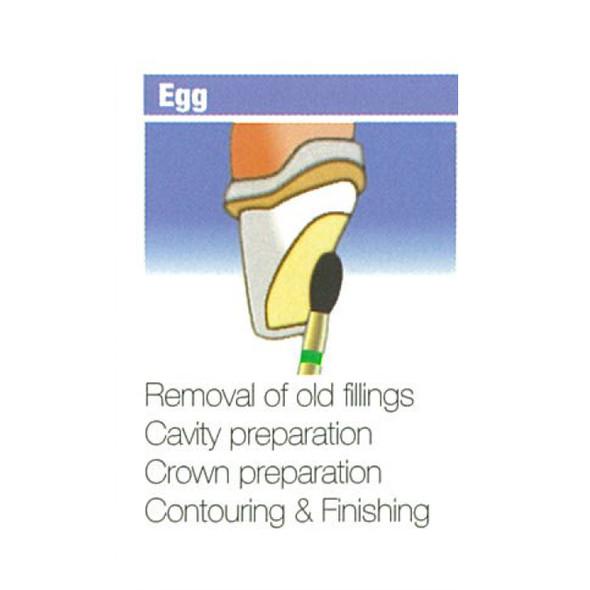 Diamond Burs Egg