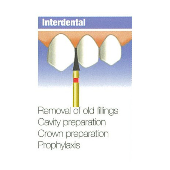 Diamond Burs Interdental