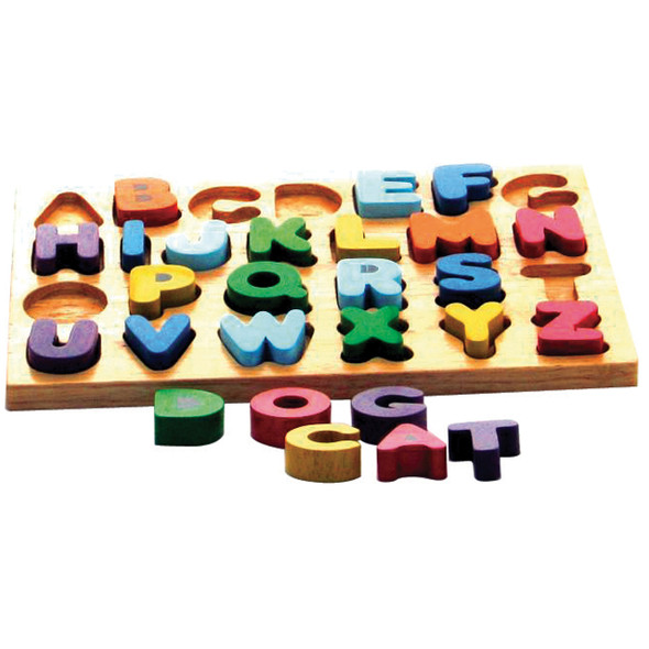 Wooden Toy Puzzle - Capital Letters