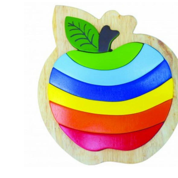Wooden Toy Puzzle - Delicious Apple