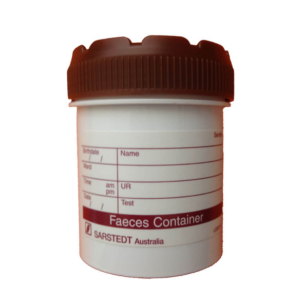 Faeces Pathology Test Plastic Container