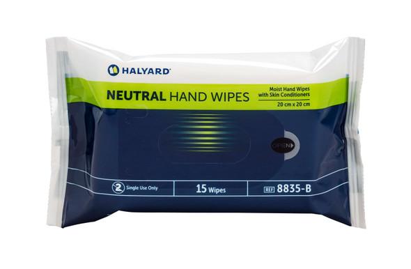 Halyard Neutral Hand Wipes