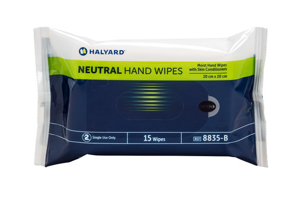 Halyard Neutral Hand Wipes