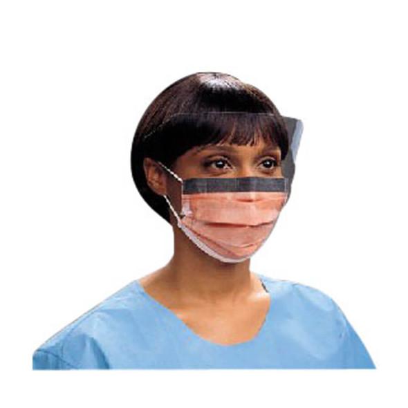 Kimberly-Clark Fluidshield Fog-Free Mask with Wraparound Splashguard Visor with Ear Loops