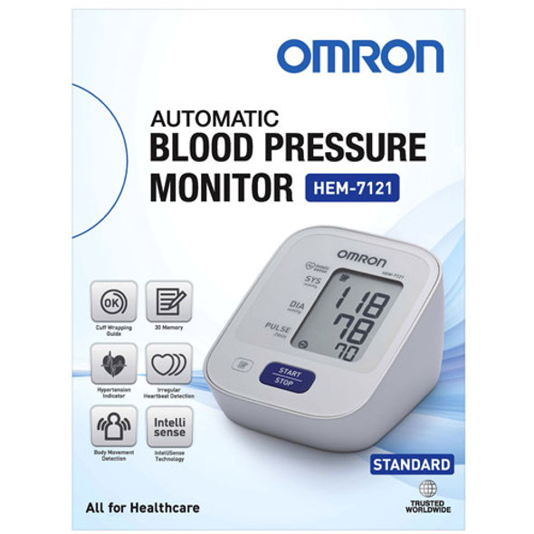 Blood Pressure Monitor Omron HEM 7121