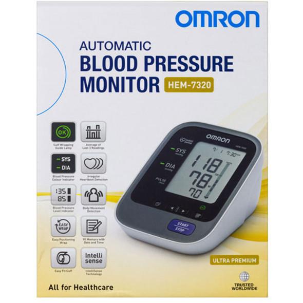 Blood Pressure Monitor Omron HEM 7320