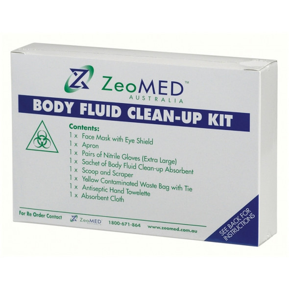 Body Fluid Spill Clean Up Kit