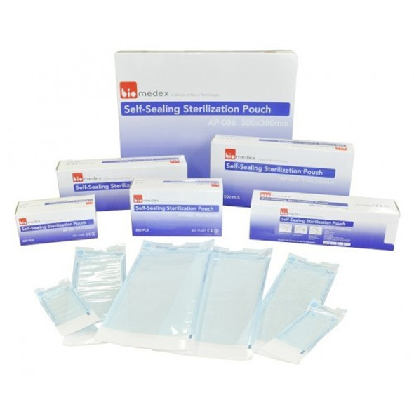 Autoclave Pouches Biomedex