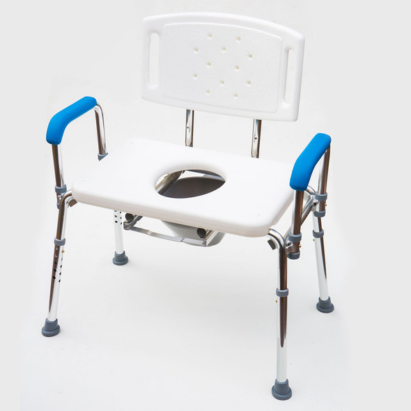 Commode Chair Bariatric Shower Chair/Stool