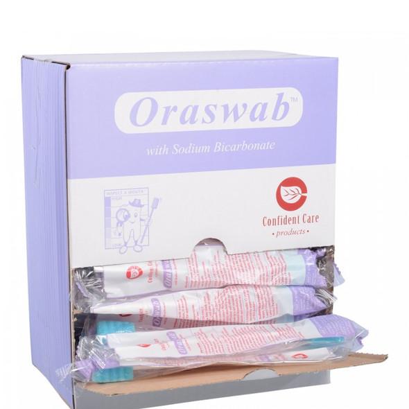 Oral Swab Impregnated with Sodium Bicarbonate