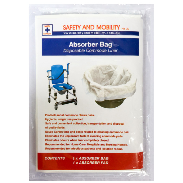 Absorber Bag - Disposable Commode Liner
