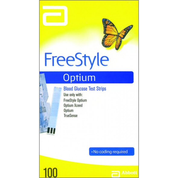 Freestyle Optium Test Strips