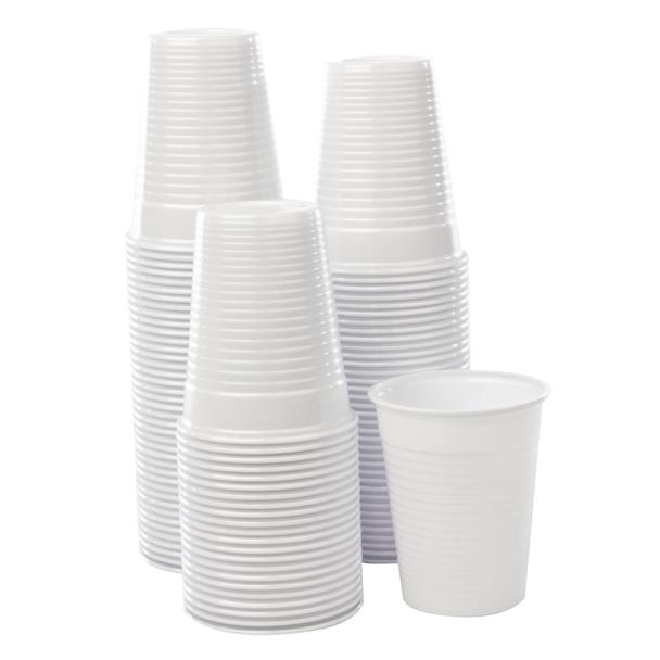 Plastic Disposable Cups 200ml - 1000 Units/ Case