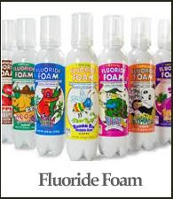 Fluoride Foam