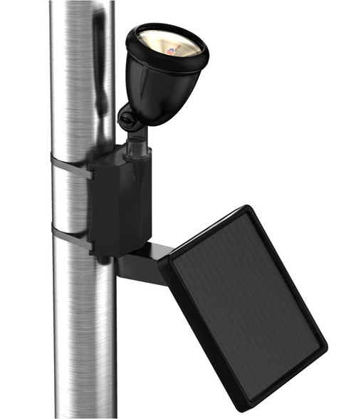 Solar-Powered LED Flag Light