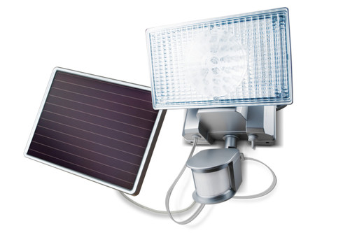 Solar-Powered Motion-Activated 100 LED Outdoor Security Floodlight