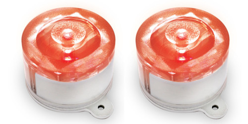 Solar Marker Lights - Red (Pack of 2)