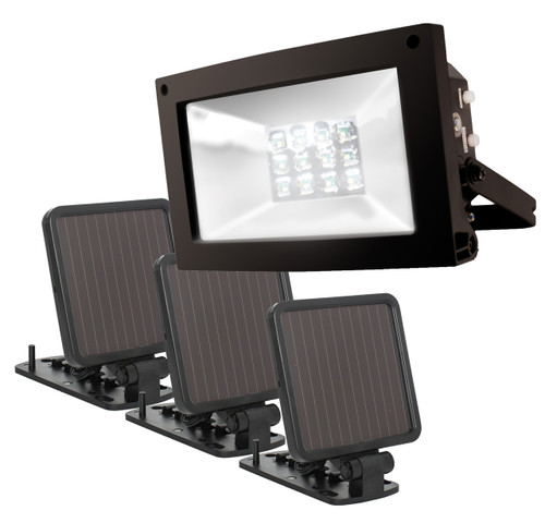 Solar-Powered Ultra-Bright Flood Light: Save $20 Through 12/05/2020