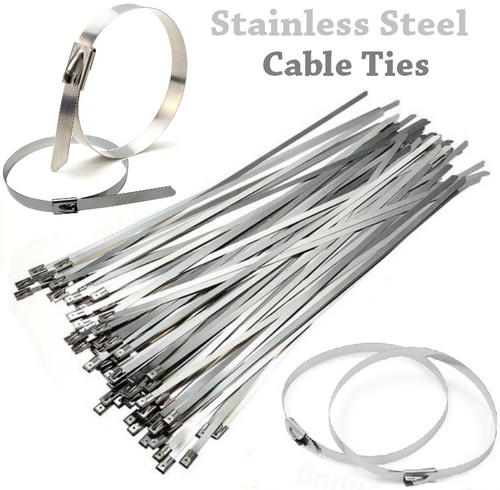Replacement Stainless Steel Cable Ties - Set of 2