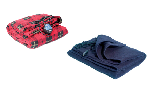 Comfy Cruise® 12Volt Heated Travel Blanket