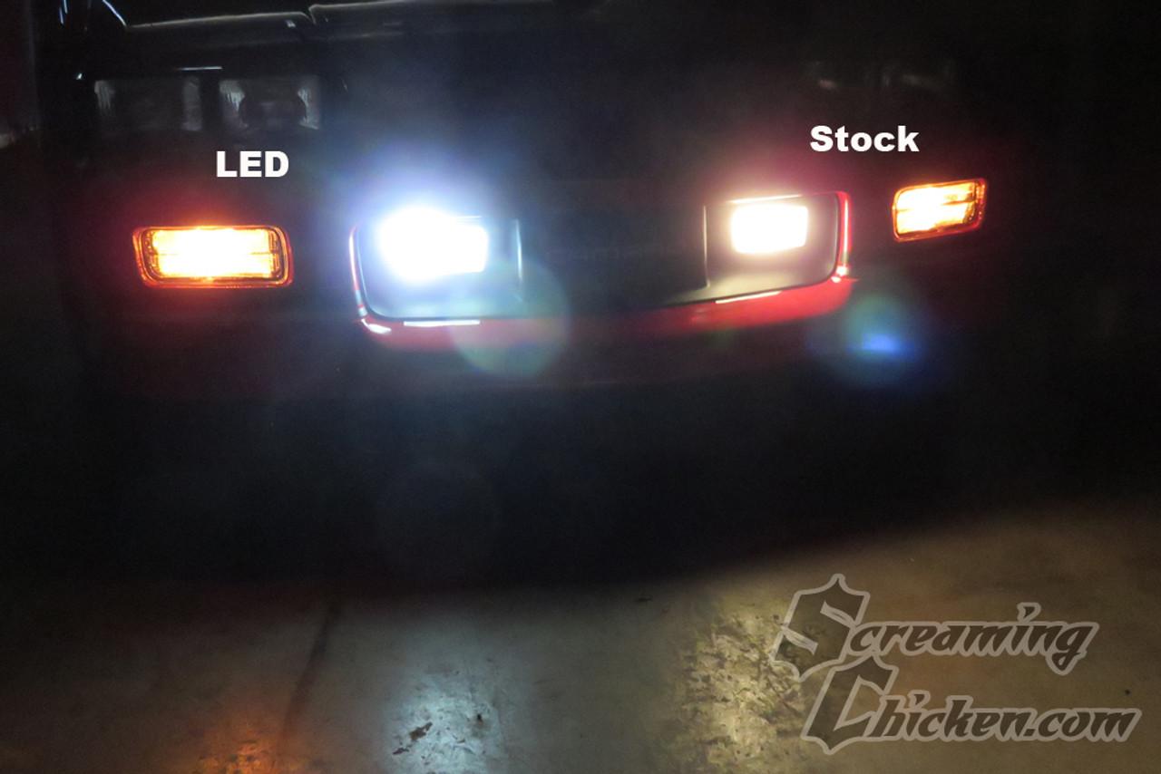 1985 92 Camaro Firebird Led Fog Light Bulbs