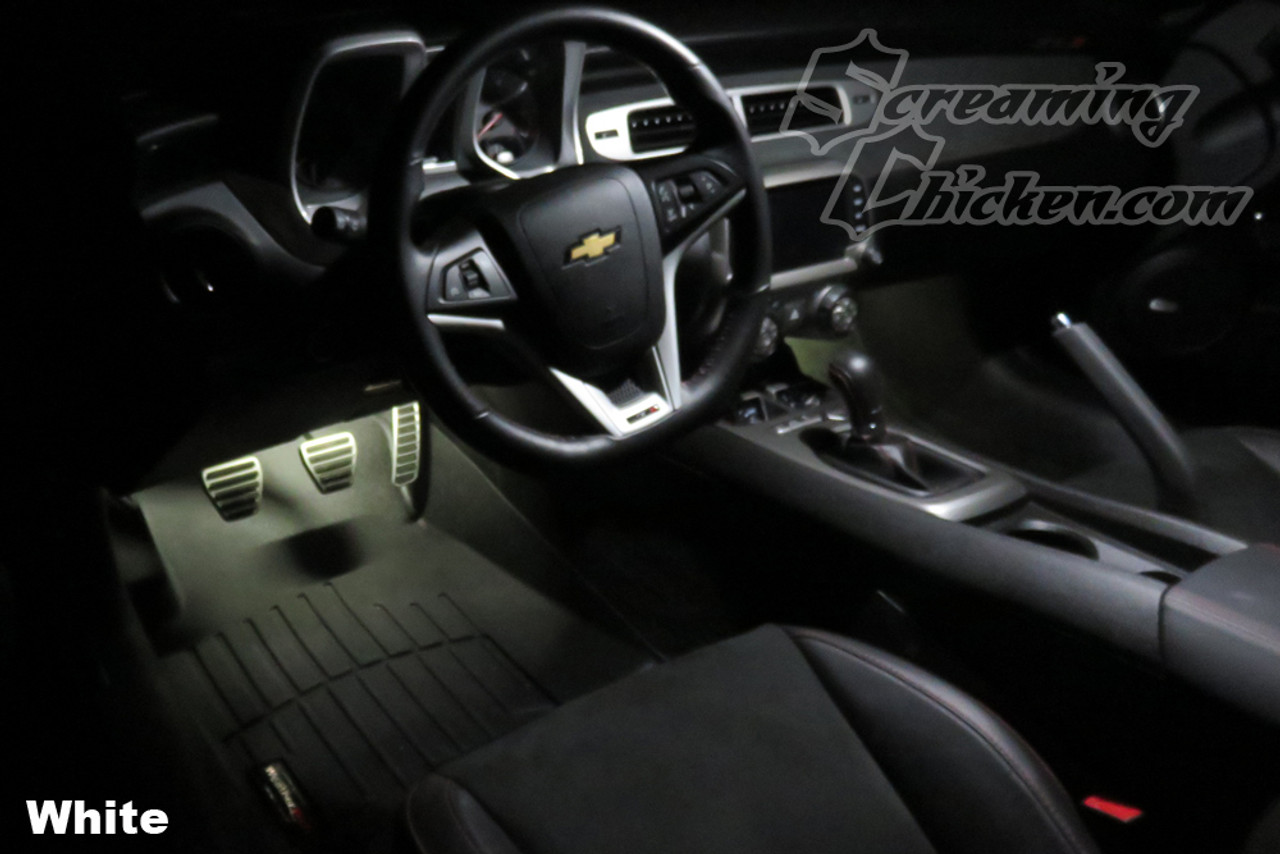 2010-15 Camaro Footwell Lighting